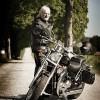 přítel motorkář